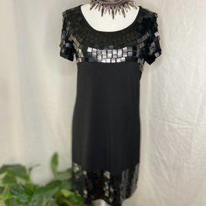 ROMEO & JULIET COUTURE Black dress w/ sequins